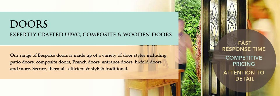 Doors Expertly Crafted UPVC, Composite & Wooden Doors for South East London